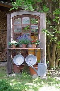 Garten Und Deko : alte fenster altes fenster wunderlichekunst pinteres ~ Sanjose-hotels-ca.com Haus und Dekorationen