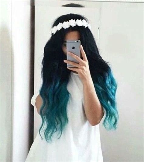 With Black Hair by 20 Balayage And Ombre Mermaid Hair Ideas To Rock Styleoholic