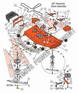 2017 Maverick 60 U0026quot  Deck Assembly