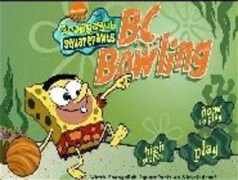 jeux de spongebob cuisine jeux bob l 39 eponge spongebob bowling