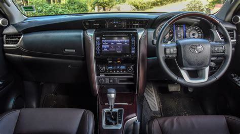 toyota fortuner   mt diesel interior car