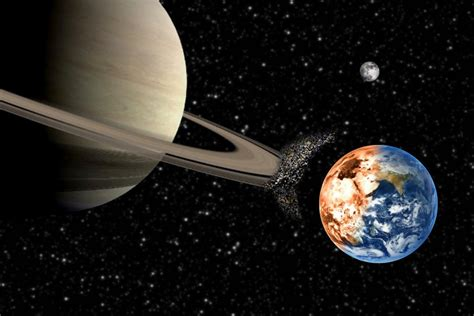 What Would Happen Saturn Moved Close Earth