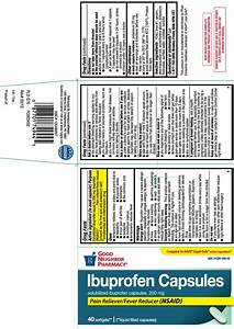 Ibuprofen Softgels Capsule Liquid Filled
