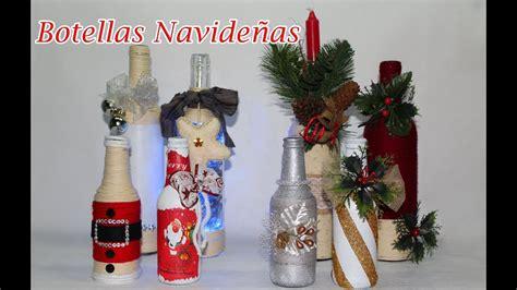 8 botellas decoradas navide 241 as