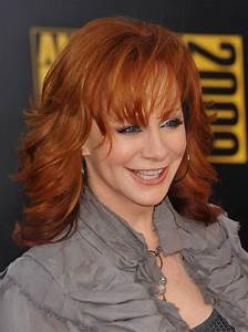 Human Hair Color Chart Reba Mcentire 39 S Long Chiseled Red Hair Wig Rewigs Com