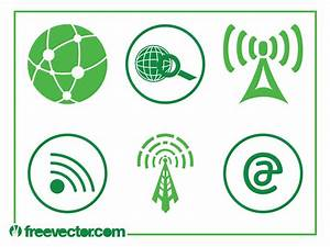 Technology And Internet Icons Vector Art & Graphics ...