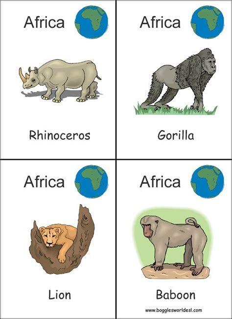 continent flashcards printables buscar  google