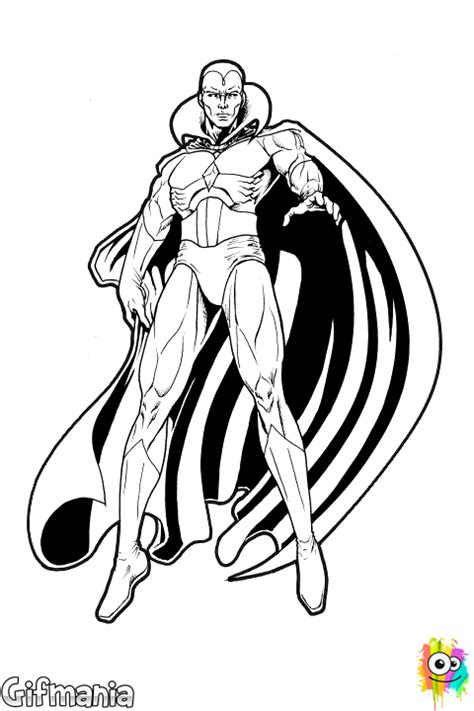 vision coloring page