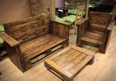rustic dining table diy pallet furniture for living room pallet furniture