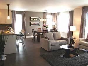 open concept living dining kitchen aire ouverte salon With salon cuisine aire ouverte