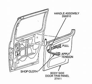 My Inside Door Latch Isnt Working On A 1996 Ford Winstar