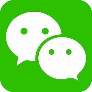 WeChat Logo PNG Transparent & SVG Vector - Freebie Supply  Transparent