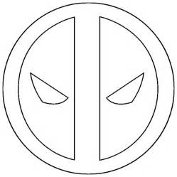 Deadpool Logo Coloring Pages