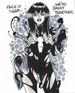 she-venom symbiote transformation | Sexy symbiotes she ...