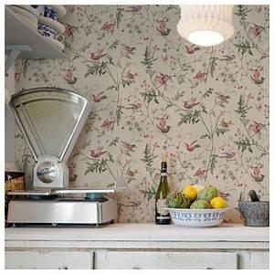 Papier Peint Cole And Son : papier peint hummingbirds fond vert cole son ~ Dailycaller-alerts.com Idées de Décoration