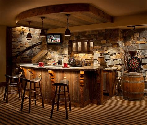 marvelous rustic home bar ideas  pure enjoyment