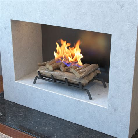 electric fireplace heater insert logs 24 inch convert to ethanol fireplace log set with burner