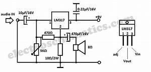 audio amplifier circuits and projects With lm4856 integrated audio amplifier circuit diagram datasheet and application