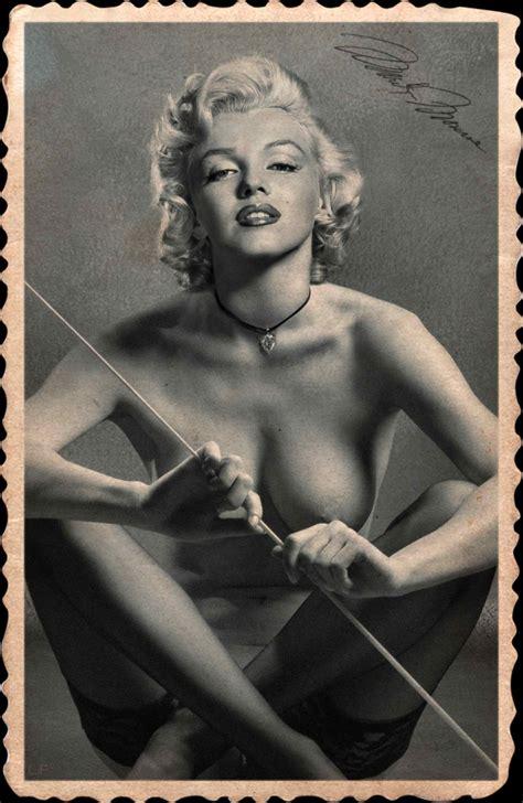 Marilyn Monroe Vintage Fake Nude Marilyn Monroe Porn Luscious