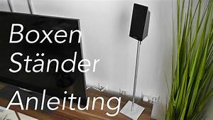 Lautsprecher Selber Bauen Anleitung : lautsprecher st nder selber bauen anleitung youtube ~ Watch28wear.com Haus und Dekorationen