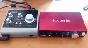 Audient iD4 vs Focusrite Scarlett 2i2 and 2i4 Comparison ...
