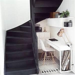 Bureau Sous Escalier : conseil d co am nager un coin bureau la maison ~ Farleysfitness.com Idées de Décoration