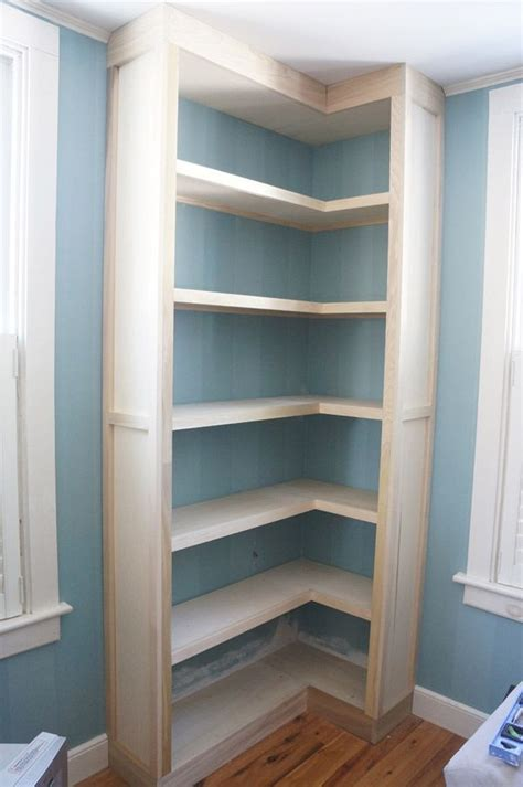 bookcases that look built in how to build inexpensive bookshelves that look built in