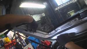 Vw A4  Golf Rear Hatch Wiring Loom Removal  Left Side