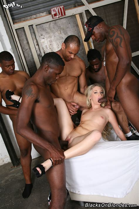Amateur Blonde Black Bbc