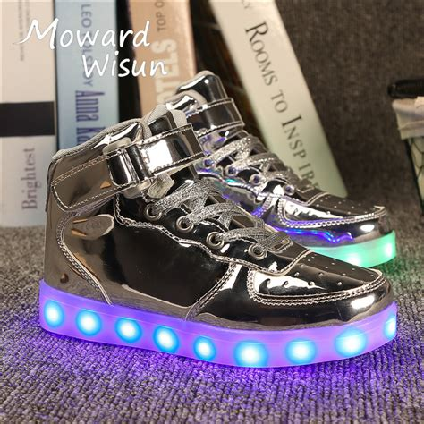light up sneakers for youth good quality fashion light up sneakers children led shoes
