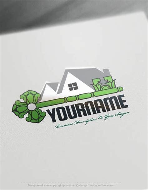 create  logo  real estate key logo templates