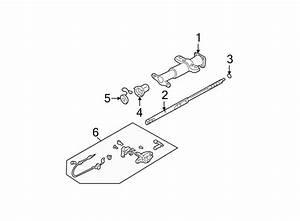 Gmc C1500 Steering Shaft  Tilt  Wheel  Column