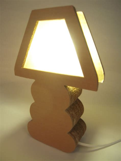 cardboard boho lamps contemporary table lamps