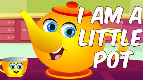 I Am Little Tea Pot   Shapes Song   Nursery Rhymes for ...