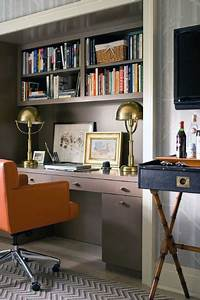 great traditional home office decorating ideas 75 Small Home Office Ideas For Men - Masculine Interior Designs