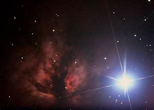 NGC 2024 Orion, Flammen Nebel, Flame Nebula, IC434/B33 ...