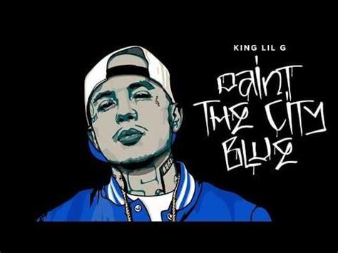 king lil  paint  city blue intro lyrics genius