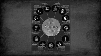 Rule Golden Religion Religions Wallpapers Taoism Judaism