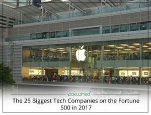 The 25 Biggest Tech Companies on the Fortune 500 in 2017