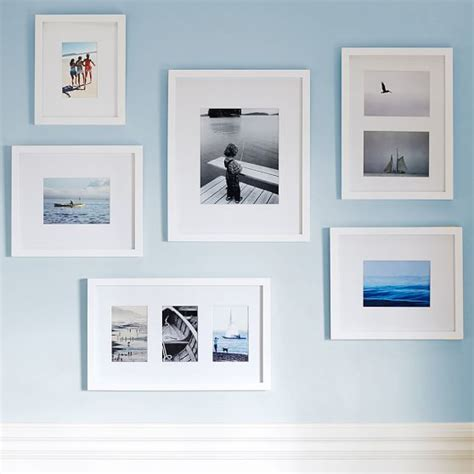picture frame gallery set gallery frames set of 6 pbteen 4184
