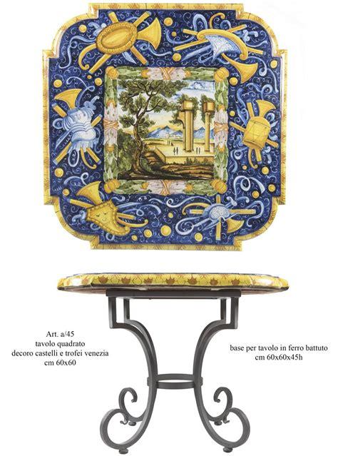 ladari in ferro battuto e ceramica tavolo in ferro battuto e ceramica idee per la casa