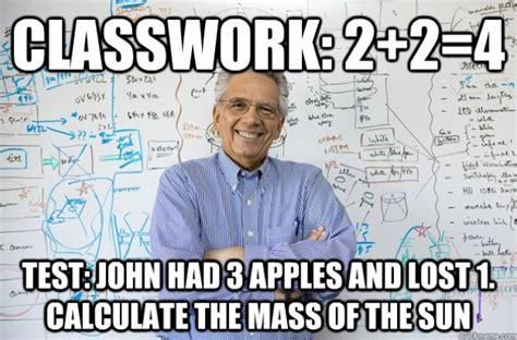 College Test Meme - funny memes