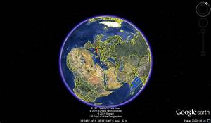 Gps Satelites Static Earth Effect And Spinning Earth Effect
