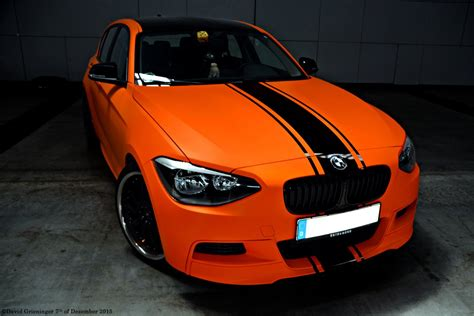 matte orange bmw 135m matte orange by davidgrieninger on deviantart