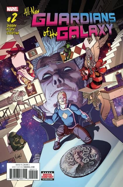all new guardians of the galaxy 3 includere issue