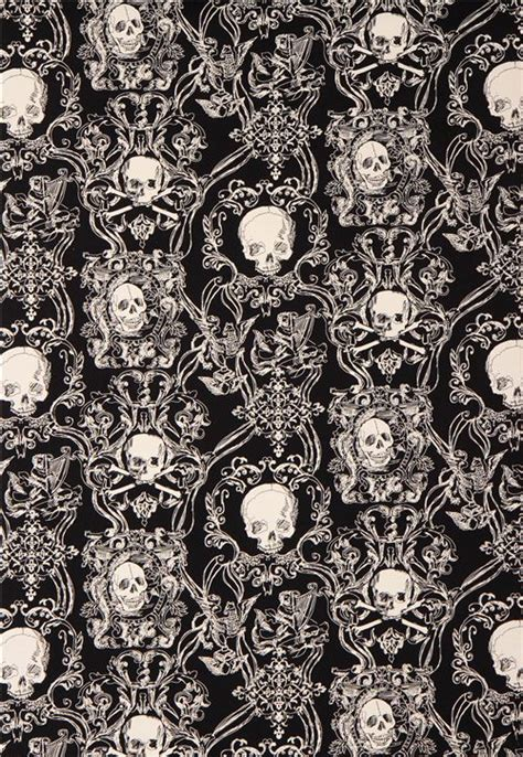 skull heavy oxford fabric black skullduggery alexander