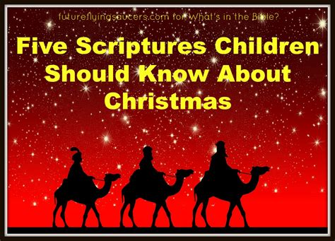 christmas bible verses for preschoolers five scriptures about children should 664