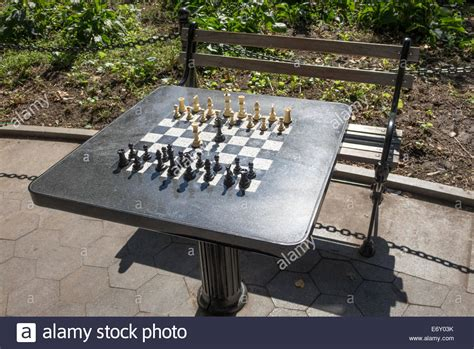 outdoor chess table chess table in washington square park in greenwich 1290