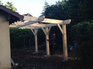 Abri De Terrasse En Bois : nos r alisation d 39 abris bois terrasse abris l onard ~ Dailycaller-alerts.com Idées de Décoration