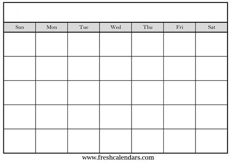 blank monthly calendar template blank calendar wonderfully printable 2019 templates